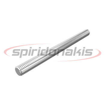 Threaded Rod 4.6 DIN 976 Zinc Plated (9476) www.spiridonakis.com