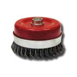 Steel Wire Brush Bell-Twisted Type for Wheel with M14 Thread
