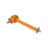 Rotary Cultivator Gearbox RTAF-095 With Extention