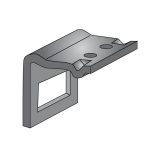 Clamps for Atlas 90x13 S-Tines for 80x80 Tube Bianchi