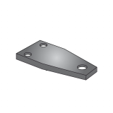 Chisel Clamp Plate for Tube 100x100
