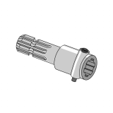 PTO Adapter with Push Pin
