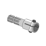 PTO Adapter with Hole and Bolt